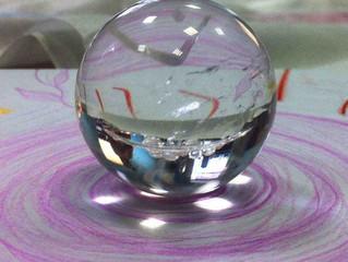1 сентября  Рисуем мандалу в круге Кристаллов Света