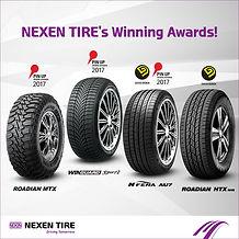 NEXEN's award winning tyres
