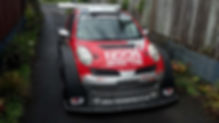 NZ Superlap Car with NEXEN SUR4G tyres