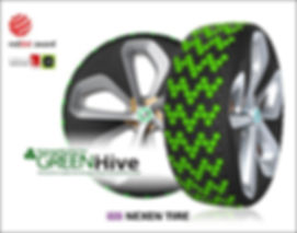 Nexen Tire's Green Hive Winning Tyre