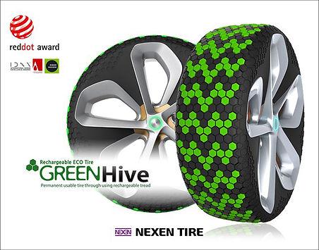 Nexen Tire's Green Hive Winning Tyre