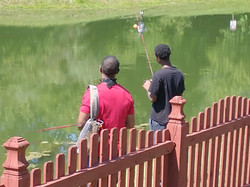 Boys to Men - Fishing and BBQ 6