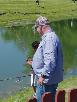 Boys to Men - Fishing and BBQ 2