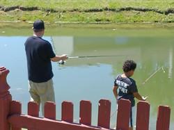 Boys to Men - Fishing and BBQ 4