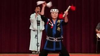 安来節保存会関西支部設立35周年祝賀会銭太鼓.jpg