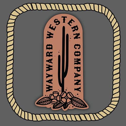 Wayward Western Co. Sticker