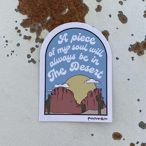 Desert Soul Sticker