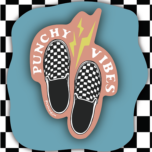 Punchy Vibes Sticker
