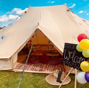 Festival theme emperor tent