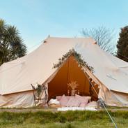 Boho theme emperor tent