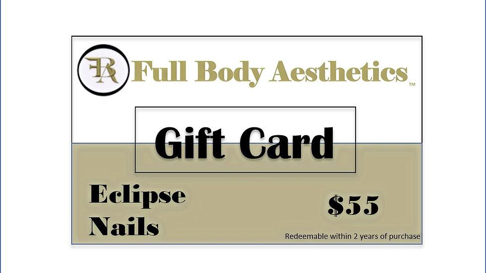 Full Body Aesthetics Gift Card - Gorgeous Nails