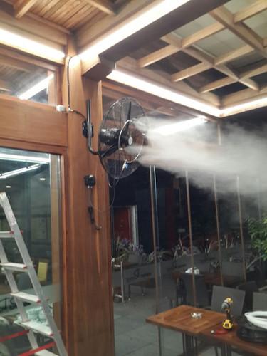 Vantilatörlü Serinletme Sistemleri