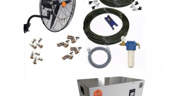 7 Vantilatörlü Açık Alan Serinletme Sistemi