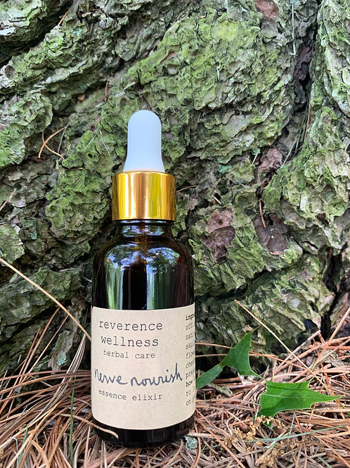 nerve nourish: essence elixir