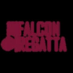 LOGO2 FALCON REGATTA maroon with falcon