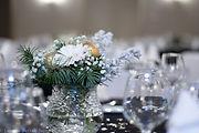 Décoration de table Nouvel An 2020, Salle Grand Siècle,