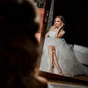 Shooting photo d'une mariée au Moulin de Lanrodec