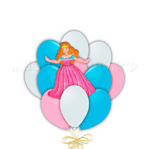 """Связка """"Маленькая принцесса""""(15шт+1шт)"""
