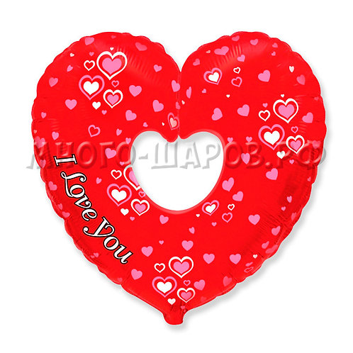 "Фигура ""Красное сердце"" (89см)"