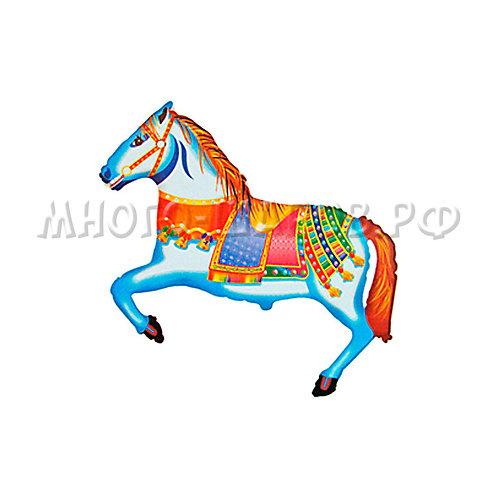 """Фигура """"Лошадь цирковая"""" (41см или 107см)"""