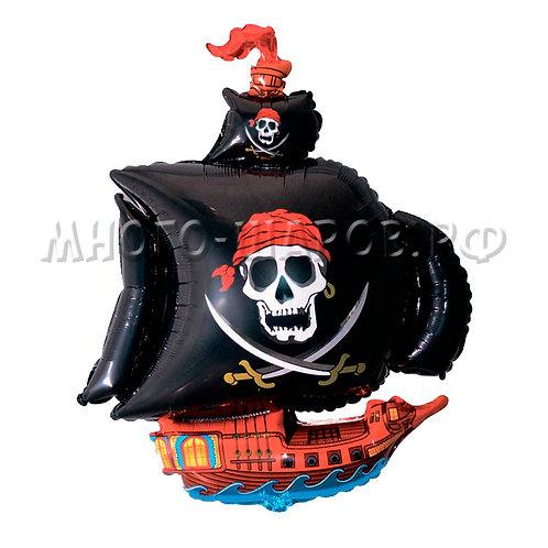 """Фигура """"Пиратский корабль"""" (38см или 104см)"""
