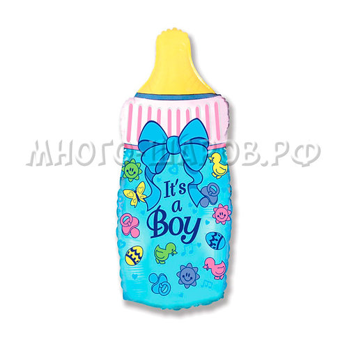 """Фигура """"Бутылочка для мальчика"""" (79см)"""