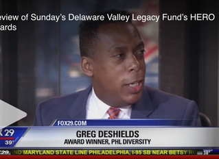 Preview of Sunday's Delaware Valley Legacy Fund's HERO Awards