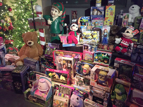 Give back at the annual DVLF TOY event