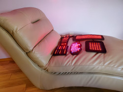 Light therapy pads