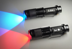 Red & Blue Torches