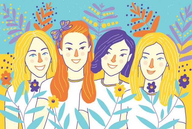Kyiv by locals - illustrated portrait