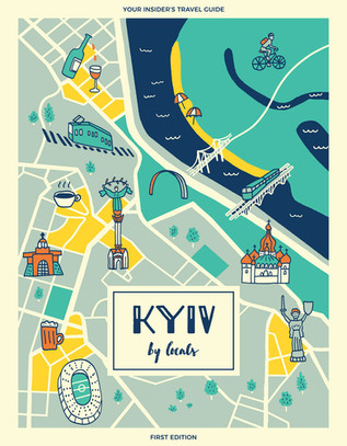 Kyiv by locals - book cover