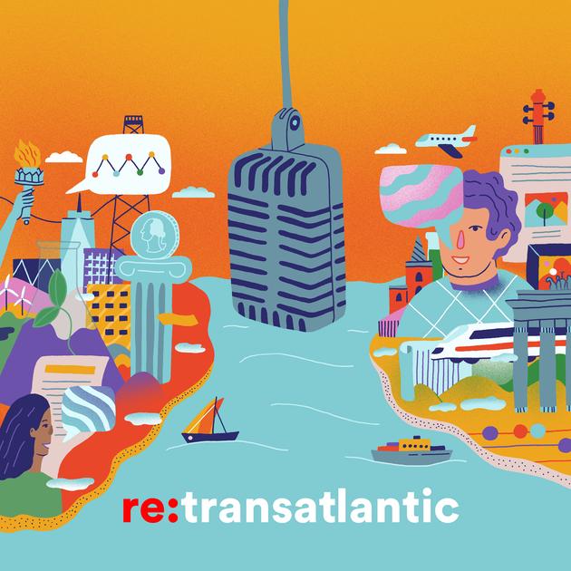 re:transatlantic Podcast Art