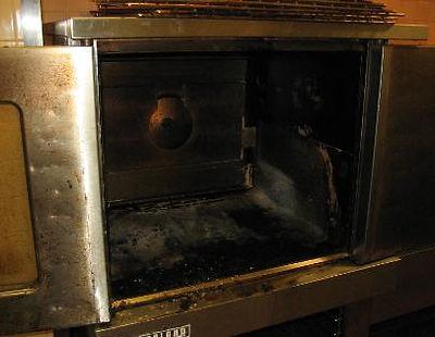 Oven Interior - Before