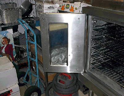 Oven Door - After