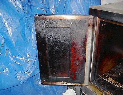 Oven Door - Before