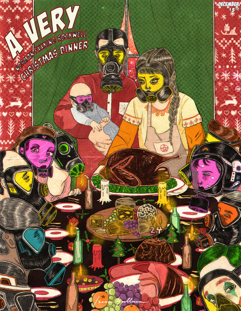 A Very Norman Fxxking Rockwell Christmas Dinner