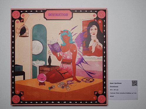 Divination Canvas Print