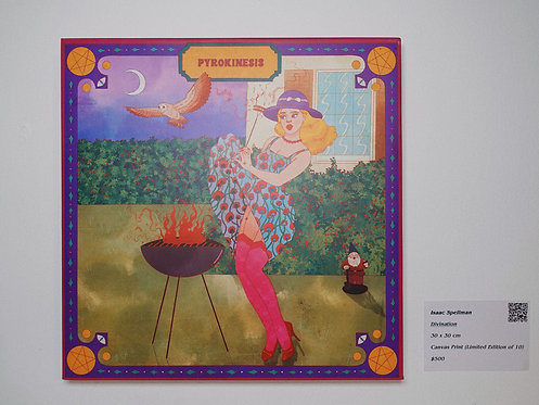 Pyrokinesis Canvas Print
