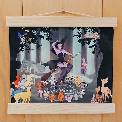Enchanted Forest Fabric Print