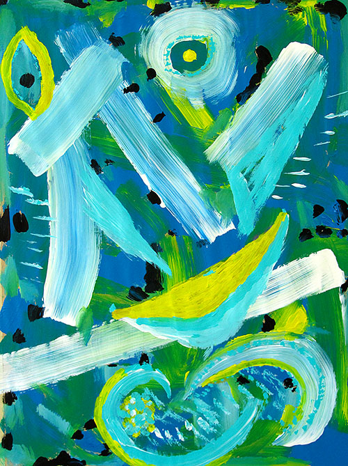 Intuitives Malen, Acryl 13