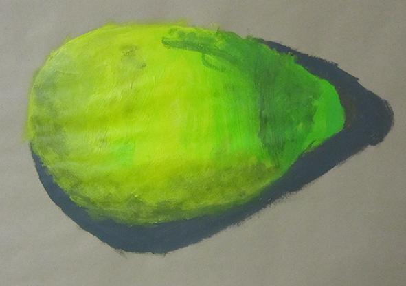 Zitrone, Acryl
