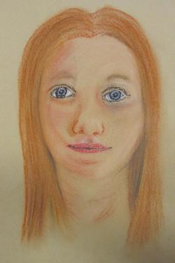Portrait, Pastell