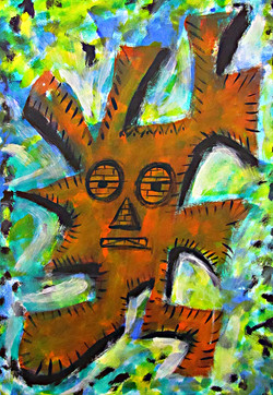 Kreatives Malen, Acryl