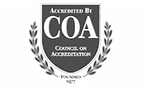 Logo image for Council on Accreditation