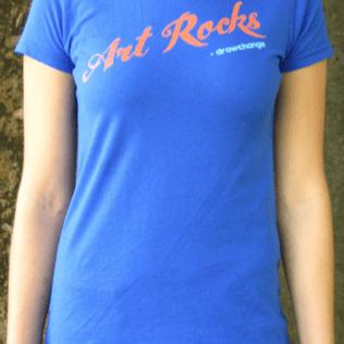 'Art Rocks' T-Shirt