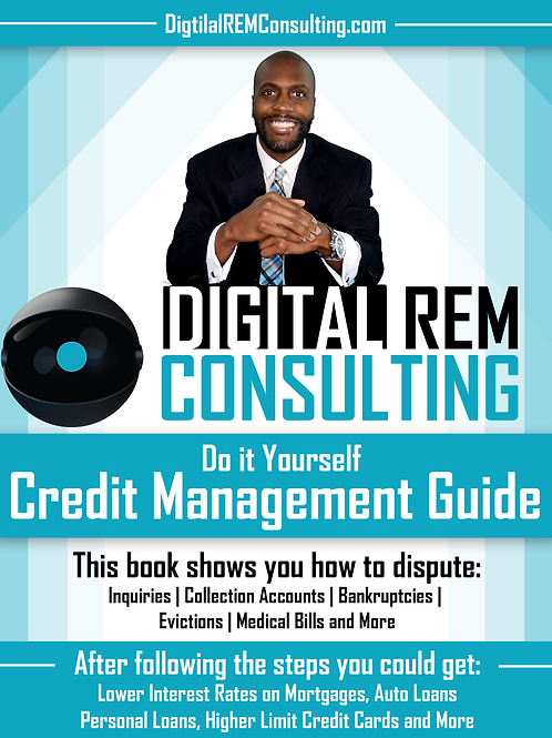 DIY Credit Management Guide E-Book