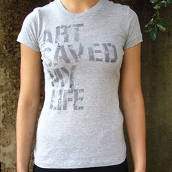 'Art Saved My Life' T-Shirt