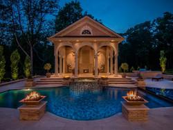 Pool Cabana w/Outdoor Seating