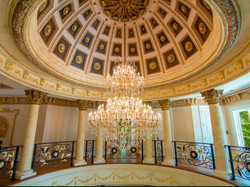 Rotonda Foyer's Dome/Chandelier